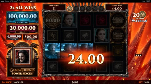 Free Spins Game Board by Casino Codes