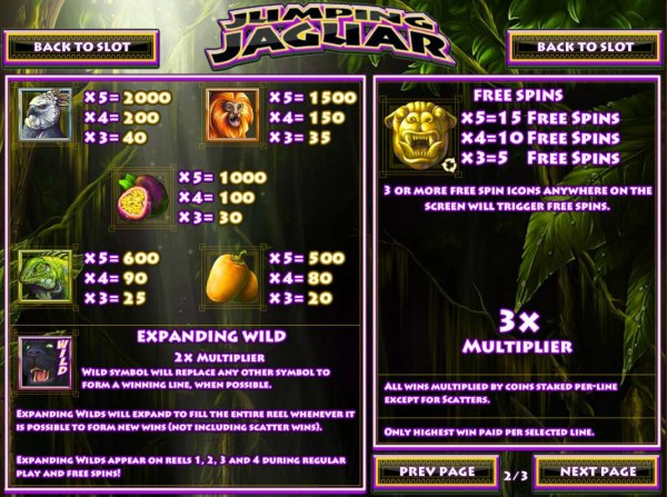 Jumping Jaguar by Casino Codes