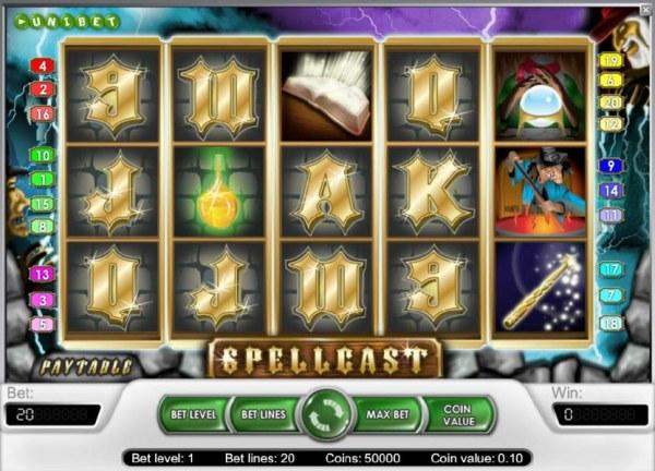 Casino Codes image of Spellcast