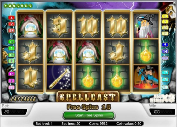Spellcast by Casino Codes