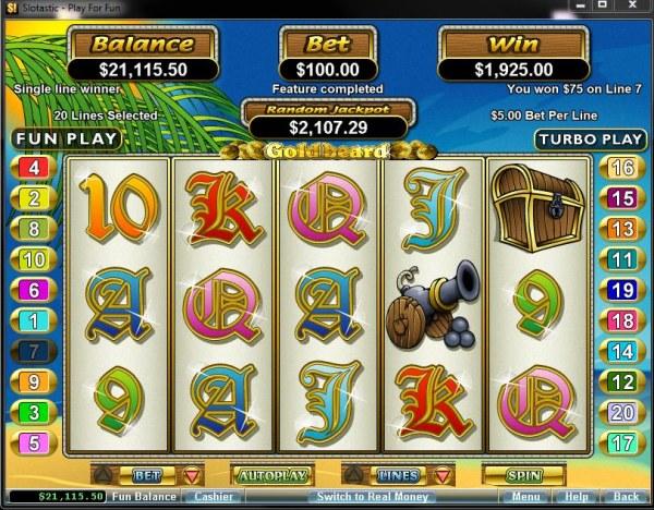 Goldbeard by Casino Codes