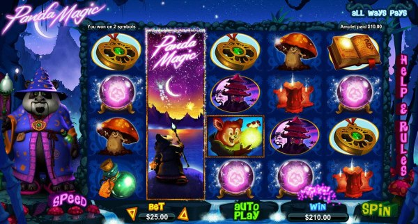 Panda Magic by Casino Codes