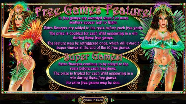 Casino Codes - 10 free games are awarded when 3 or more scatters appear left to right