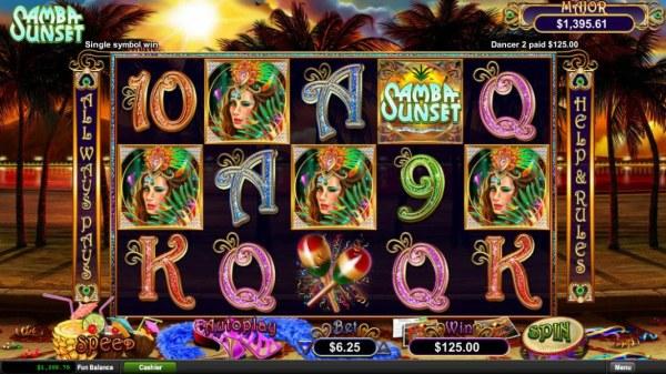 Casino Codes image of Samba Sunset