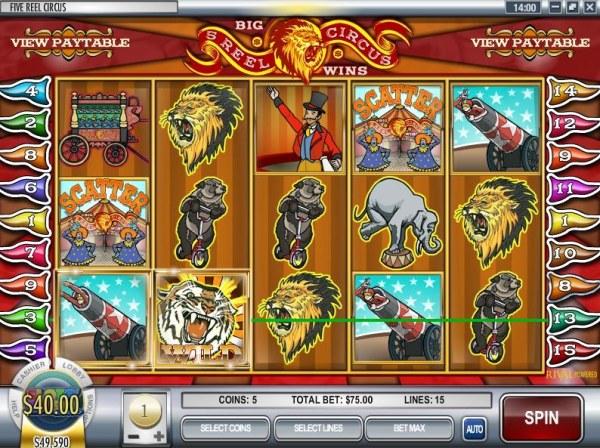 Casino Codes image of 5 Reel Circus