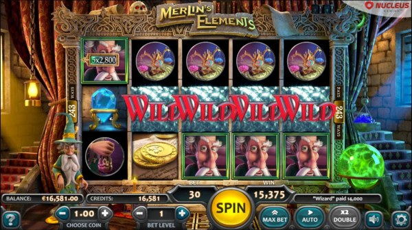 Casino Codes - Feature pays out a total of 15,375 coins