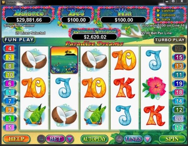 Paradise Dreams screenshot