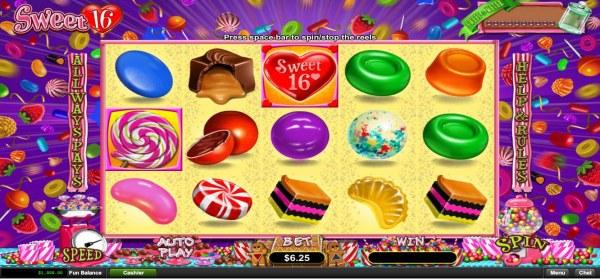 Casino Codes image of Sweet 16