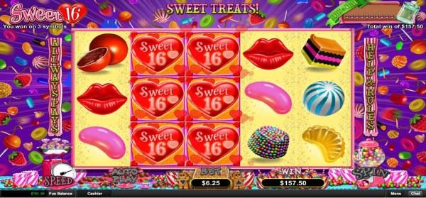 Sweet 16 screenshot