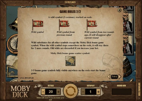game rules continued by Casino Codes