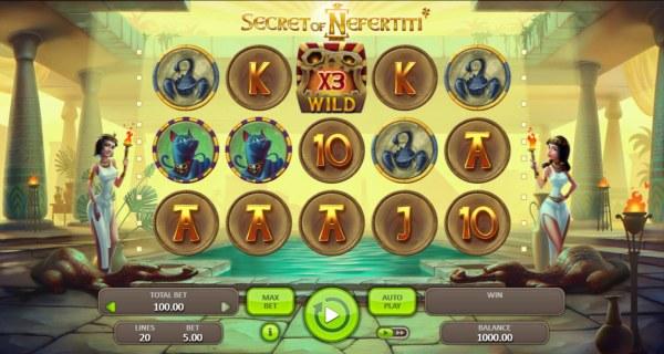 Casino Codes image of Secret of Nefertiti