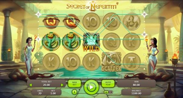 Secret of Nefertiti by Casino Codes