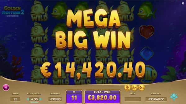 Golden Fish Tank 2 Gigablox screenshot
