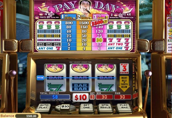 Casino Codes image of Pay Day