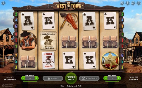 Casino Codes image of West Town