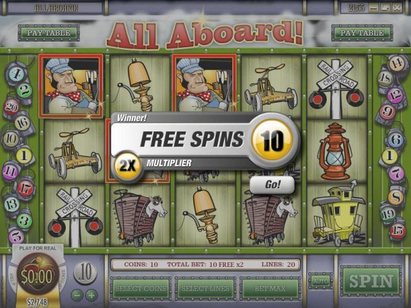 Casino Codes - casey jones free spins feature triggerd and 10 free games with a 2x multiplier awarded