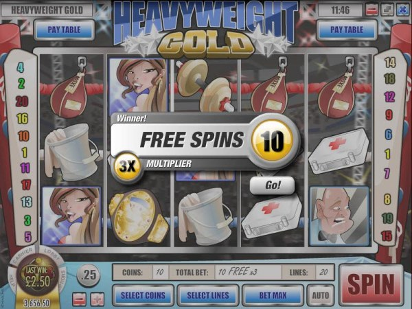 Heavyweight Gold by Casino Codes