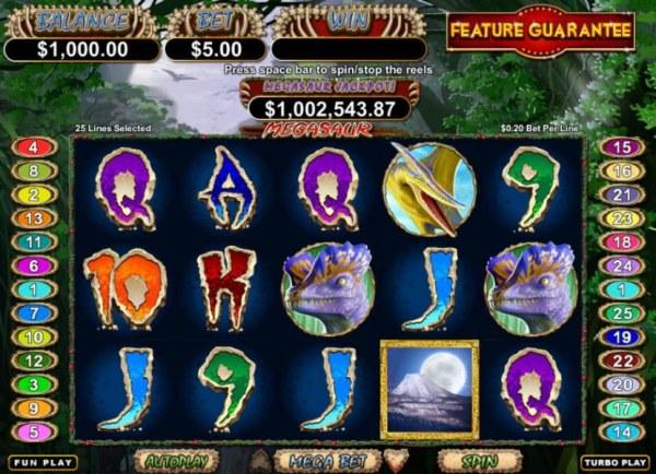 Casino Codes image of Megasaur