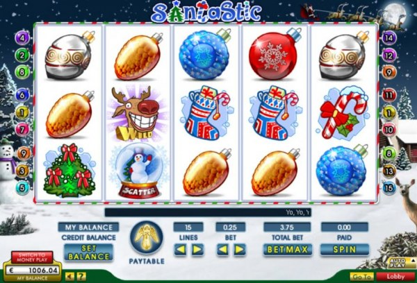 Santastic by Casino Codes