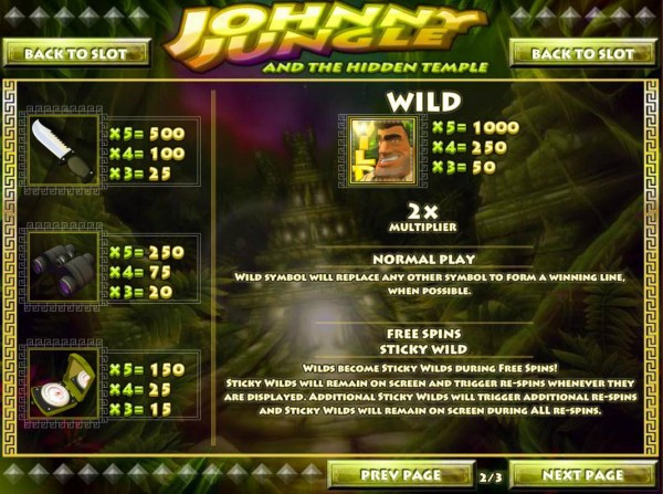 Johnny Jungle screenshot