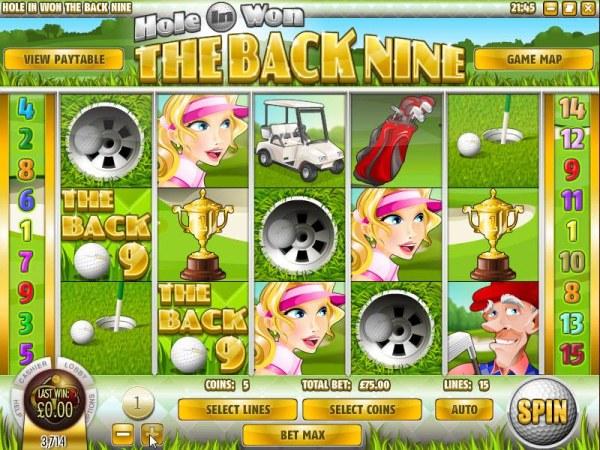 The Back Nine screenshot