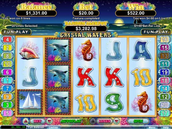 Free spins feature pays out a $522 jackpot - Casino Codes