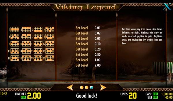 Casino Codes image of Viking Legend