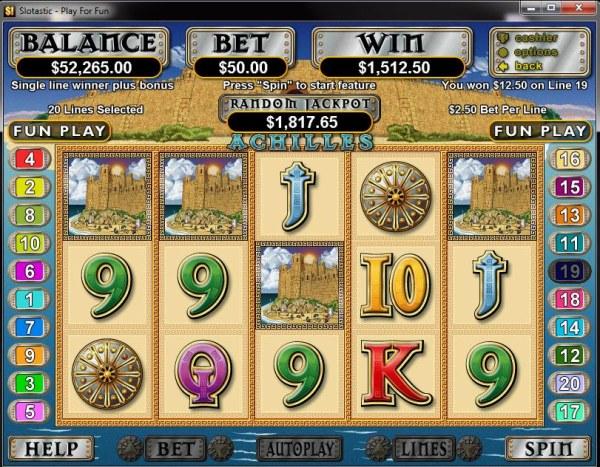 Casino Codes image of Achilles
