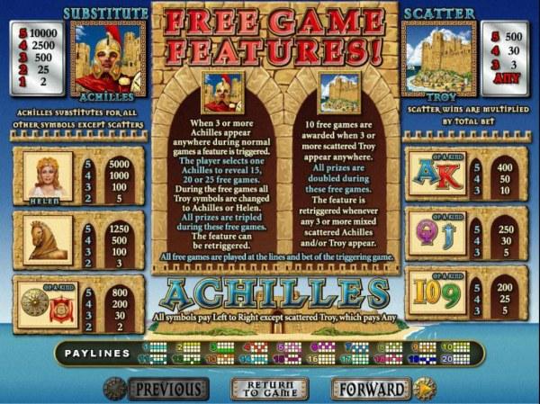 Achilles screenshot