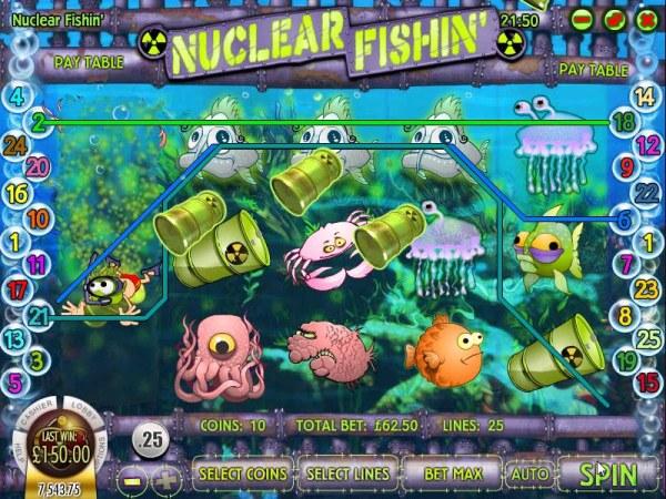 Nuclear Fishin' screenshot