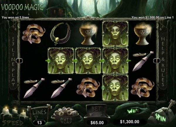Casino Codes image of Voodoo Magic