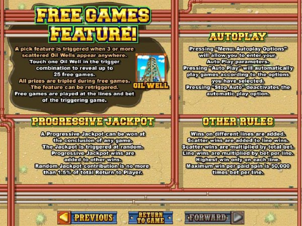 Casino Codes image of Texan Tycoon