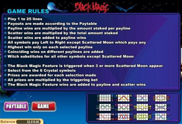Black Magic by Casino Codes