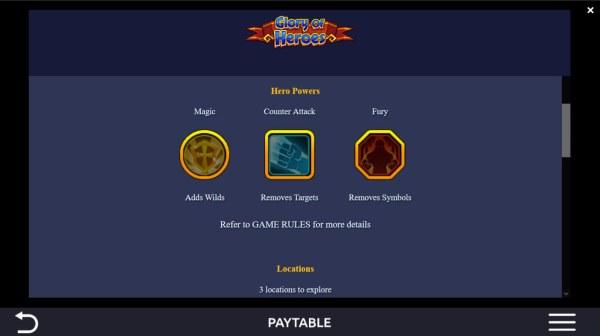 Glory of Heroes screenshot