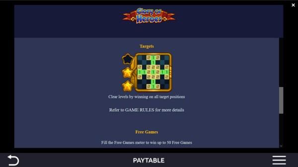 Casino Codes - Targets