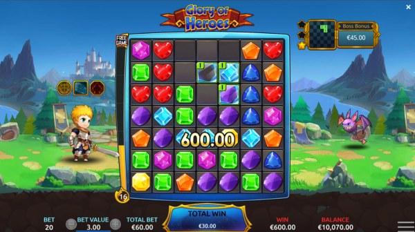 Casino Codes image of Glory of Heroes