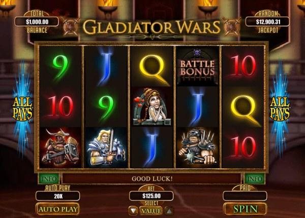 Casino Codes image of Gladiator Wars