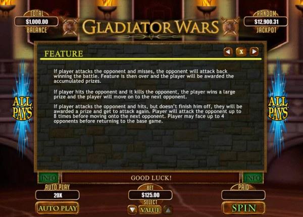 Gladiator Wars by Casino Codes
