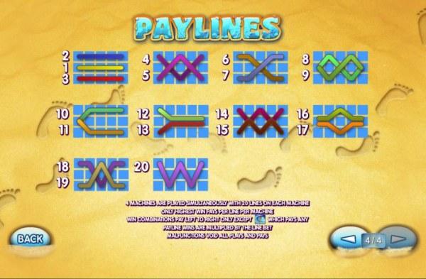 Casino Codes image of Sunset Beach