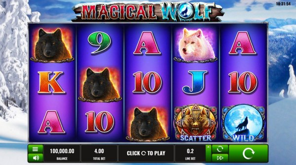 Magical Wolf screenshot
