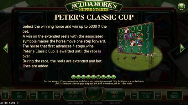 Casino Codes image of Scudamore's Super Stakes