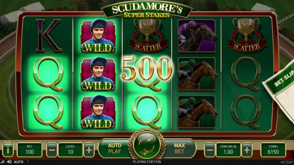 Casino Codes - Stacked wilds trigger multiple winning paylines