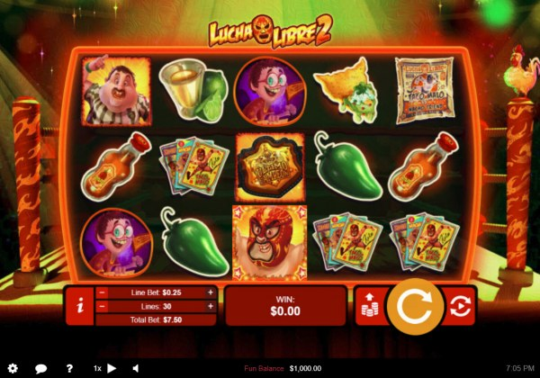 Lucha Libre 2 by Casino Codes