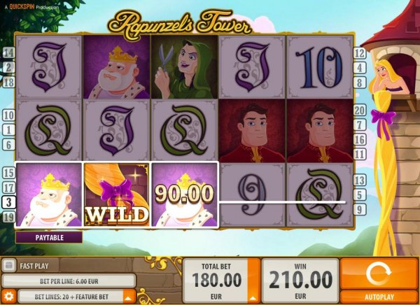 Casino Codes image of Rapunzel's Tower (old)