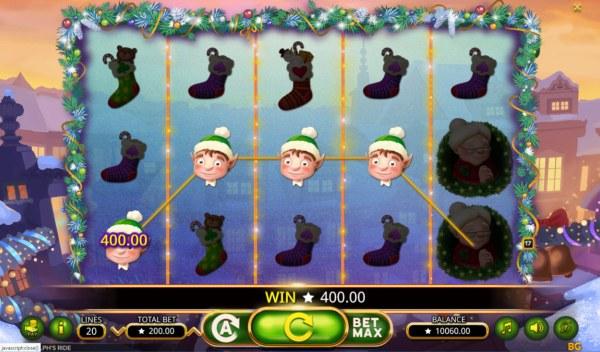Casino Codes image of Rudolph's Ride