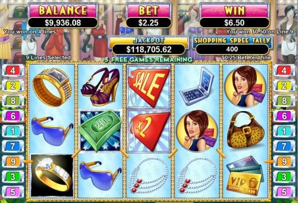 Shopping Spree II by Casino Codes