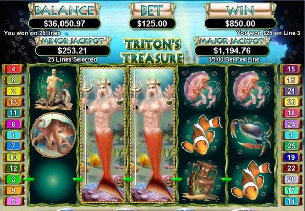 Casino Codes image of Triton's Treasure