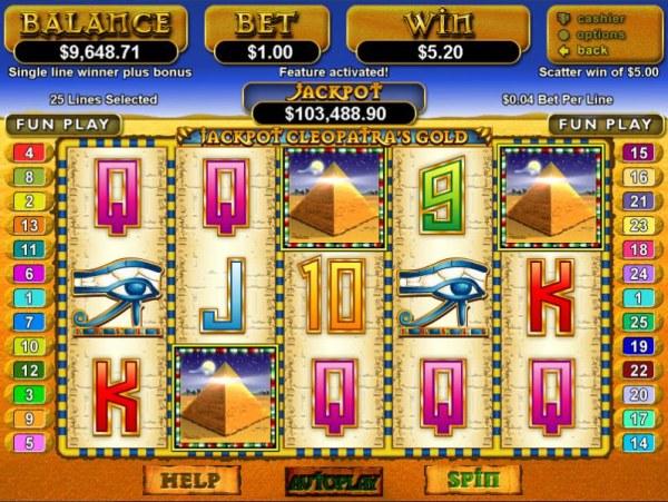 Jackpot Cleopatra's Gold by Casino Codes