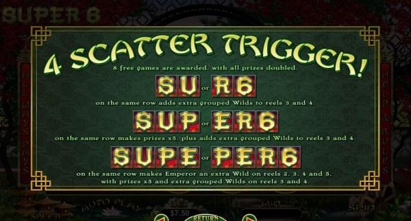 Casino Codes image of Super 6