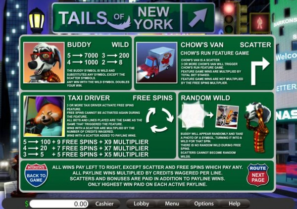 wild, scatter, free spins and randon wild rules by Casino Codes